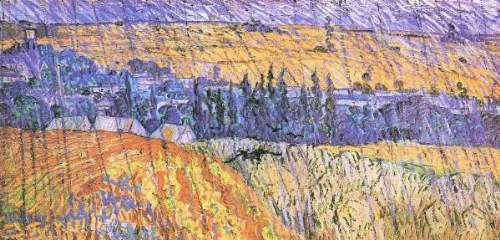 Van Gogh - Landscape at Auvers in the Rain [1]